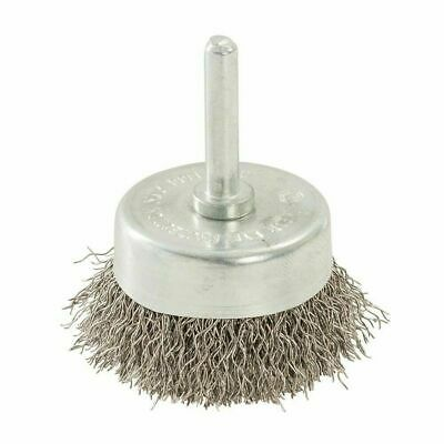 12 x 50MM ROTARY STAINLESS STEEL WIRE CUP BRUSH 529311