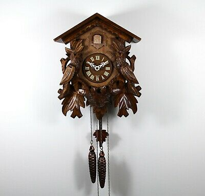 Stunning German Black Forest  Cuckoo Clock (Fully serviced) and working