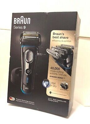 Braun Series 9 9240s Mens Wet & Dry Shaver With Charging Stand Brand New