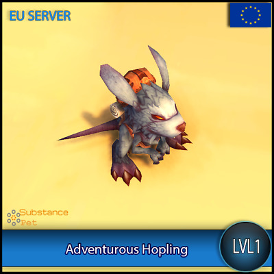 Adventurous Hopling lvl1 Pet BFA | All Europe Server | WoW Warcraft Loot