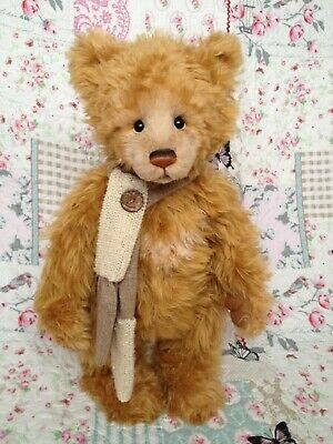 CHARLIE BEARS 2017 ISABELLE MASTERPIECE RETIRED LIMITED BEAR below rrp of £320