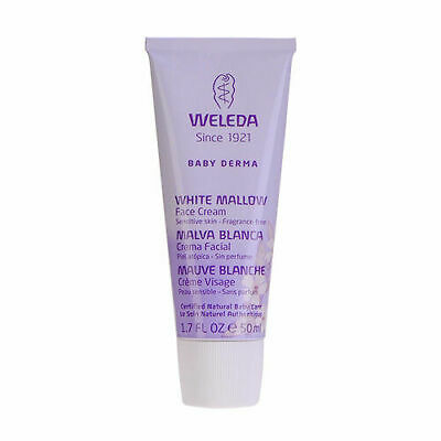 Weleda Baby Derma White Mallow Face Cream Sensitive Skin 50ml Moisturizer