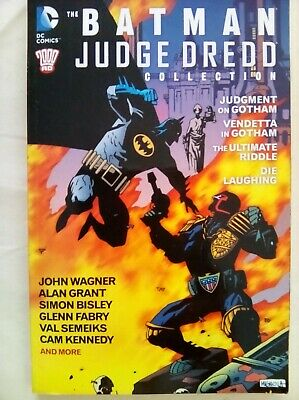 The Batman/Judge Dredd Collection (2000 Ad), Bisley,Grant,Wagner,Kennedy
