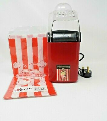 UKayed Mini Power Popcorn Maker with 5 bags