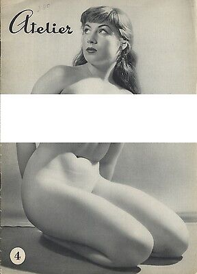 Vintage Dutch magazine from the 60s: Atelier Nr. 4