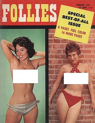 Rare vintage US men's magazine: Follies Sepcial Best-Of-All Issue 1962