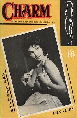 Rare vintage UK pocket size magazine from the 50s or 60s: Charm No. 9