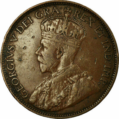 [#700984] Coin, Canada, George V, Cent, 1912, Royal Canadian Mint, Ottawa