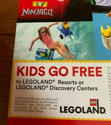 LEGOLAND Kids Go Free Ticket (with Adult ticket purchase)