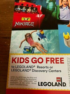 Kids Go Free Ticket LEGOLAND (with Adult ticket purchase)