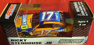 Brand New, 1/64 Action  2019 Mustang, #17, Sunnyd, Ricky Stenhouse In Hand