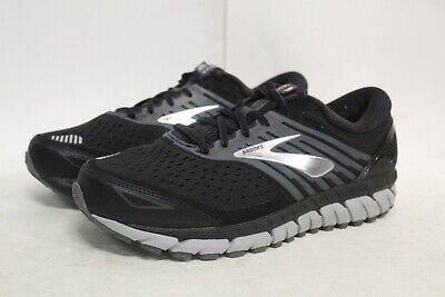 6f0f31e1977fd BROOKS BEAST 18 Black Silver Running Shoes Men's Size 16 Extra Wide ...