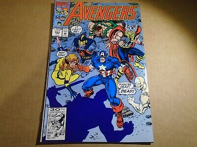 THE AVENGERS #343 1st Gatherers Endgame Marvel Comics 1992 NM