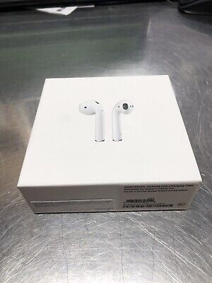 Apple AirPods White MMEF2AM/A In Ear Wireless Bluetooth Headset In OG Box