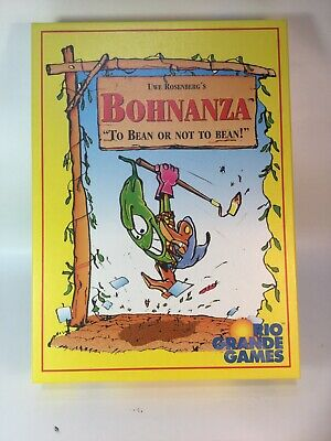 Bohnanza Group Strategy Interactive Board Game Rio Grande Games