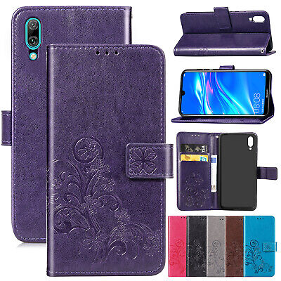 For Huawei P Smart 2019 Case P30 Pro Luxury Magnetic Leather Wallet Stand Cover