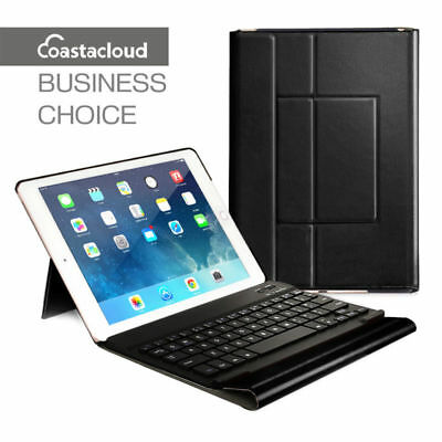 US for iPad Air 2 Bluetooth Keyboard &Leather Stand Case Smart Cover A1566 A1567