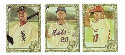 Gold Hot Box #1-400 Complete Your Set 2019 Topps Allen & Ginter SORTED BY TEAM