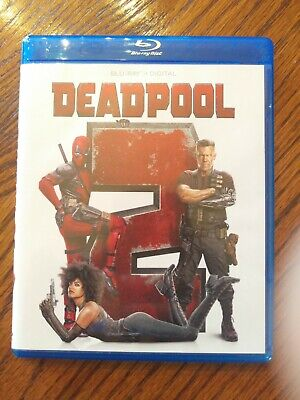 Deadpool 2 (Blu-ray, 2018, NO Digital) **LIKE NEW**