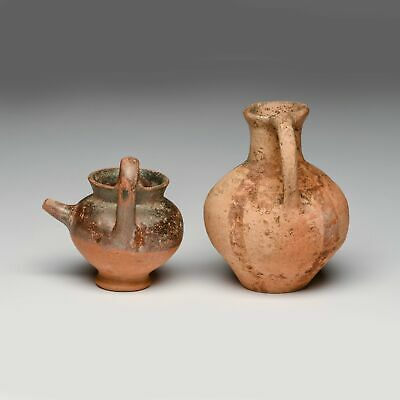 Antiquities, Cypriot & Campanian Pottery Baby Feeders (two pieces)