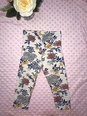 Baby Girl Leggings 12-18 Months 🌷 Marks & Spencer 🌷