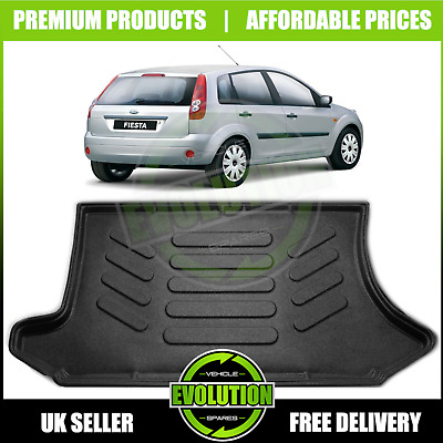 FORD Fiesta 2002-2008 MK6 Tailored Boot tray liner car mat Heavy Duty 3/5 door