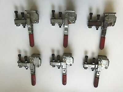 LOT OF 6 DE-STA-CO 207-U Vertical Hold-Down Action Clamp
