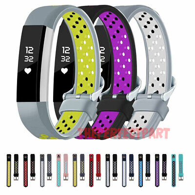 For Fitbit Alta HR Silicone Replacement Wristband Sport Wrist Strap Watch Band