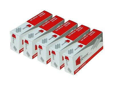 5 x Agressor staples to suit Stanley Bostitch - 6 mm B8 Staples (5000/ 1Pack)