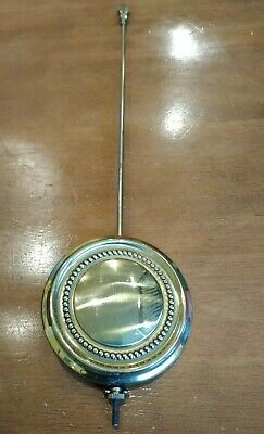 "Antique Adjustable Clock Pendulum Part Brass 14"" Long Adjustable Tool"