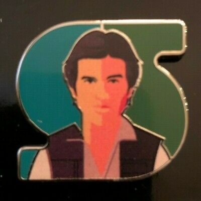 HAN SOLO Star Wars Celebration 2019 Exclusive Pin Tom Whalen Letter S