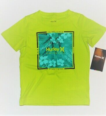 Hurley Toddler Boys Born From Water T-Shirt Size 4T NWT