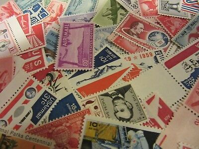 MINT US Aviation Postage Stamp Lots, all different MNH AIRMAIL UNUSED P.O. FRESH