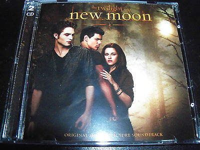 New Moon Twilight Original Soundtrack Limited Deluxe CD DVD Edition - Like New