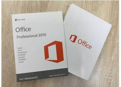 Microsoft Office 2016 Windows Lifetime License Key For One PC Instant Delivery