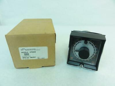 182915 New In Box, Danaher HP53A6 Timer, 0-5 MIN, Knob Reset, 120V, 10A
