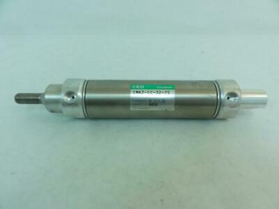 183106 Old-Stock, CKD CMK2-CC-32-75 Air Cylinder, 32mm Bore, 75mm Stroke
