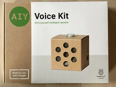 Google AIY Voice Kit Version 2.0 Brand New in Box Includes Raspberry Pi - NEW