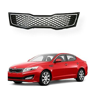 For 2011 2012 2013 Kia Optima SX SXL Chrome Front Upper Bumper Grill Grille