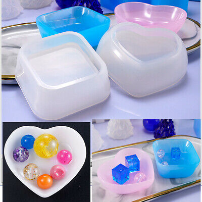 DIY ROUND SILICONE Storage Box Mold Resin Mould Jewelry