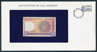 "World: 1973-83 Banknote/Stamp Cover ""SET 8 DIFFERENT"" Banknotes of all Nations"