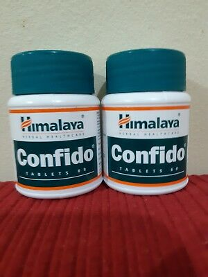 HIMALAYA HERBAL CONFIDO  ENHANCES  POWER PERFORMANCE  60 TABLETS X 2 JAR uk sell