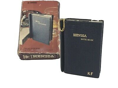 Vintage 1970's Henica Pocket Note Book with Transistor Radio and Flashlight