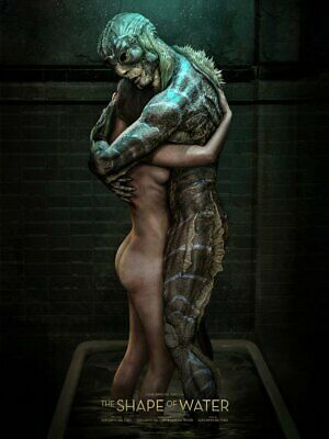 SDCC 2019 The Shape of Water Carlos Dattoli Lithograph Poster Print Art 18x24