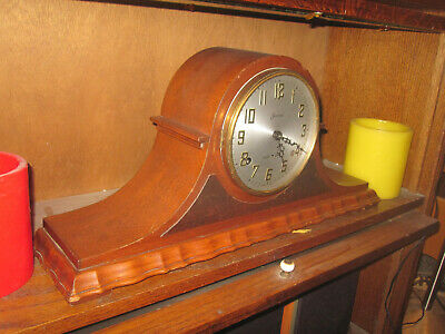 sessions mantle clock 2 train westminster chime movement  works  chimes strikes