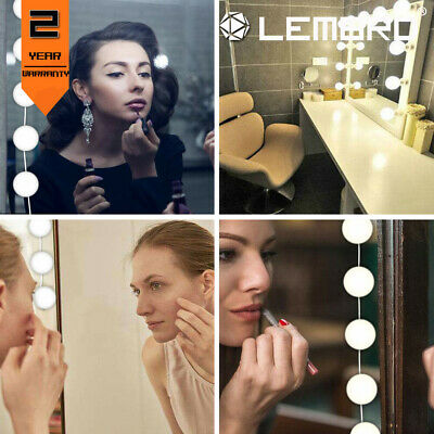 12-Bulb Makeup Mirror USB LED Mirror Lamp Light Hollywood Style Kit For Dressing