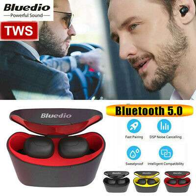 Bluedio T-elf Air pod Bluetooth 5.0 Sports Wireless Earphones with charging box*