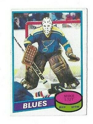 1980-81 OPC #31 MIKE LIUT RC ~ 80-81 O-Pee-Chee ROOKIE CARD