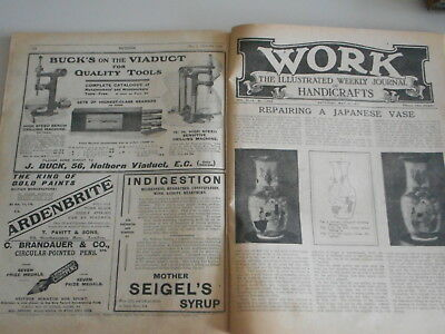 1915 WORK magazine PEARS SOAP advert Soldiers on bus send soap to Brave Boys WW1