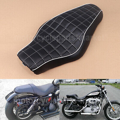 DRIVER & PASSENGER Seat 2 up for Harley Sportster XL883 N
